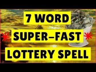 Mamaroneck Lottery money spells