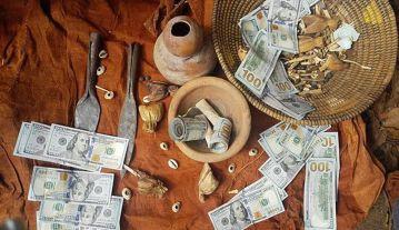 Newark magic money spell